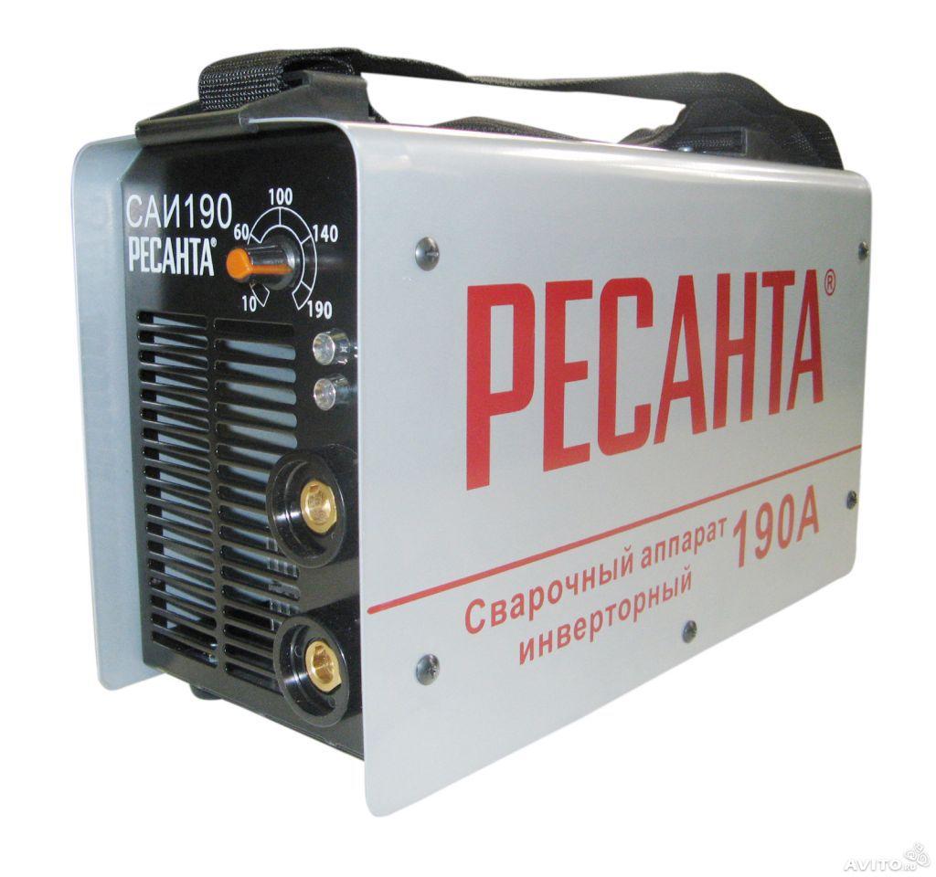 сварочный аппарат ресанта саи 190 пн инструкция по применению - фото 4